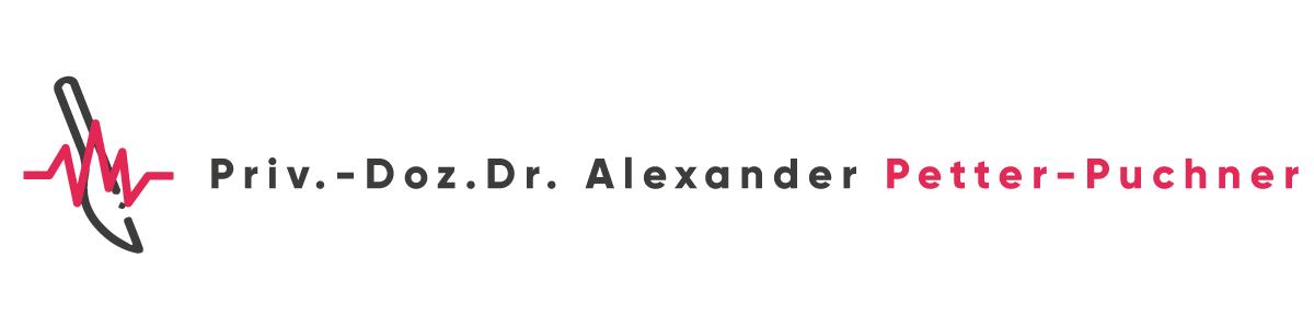 Webseite von Privatdozent Dr.Alexander Petter-Puchner